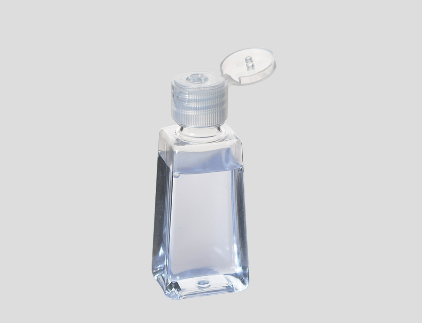 Clear Fliptop Bottles for Sanitizer