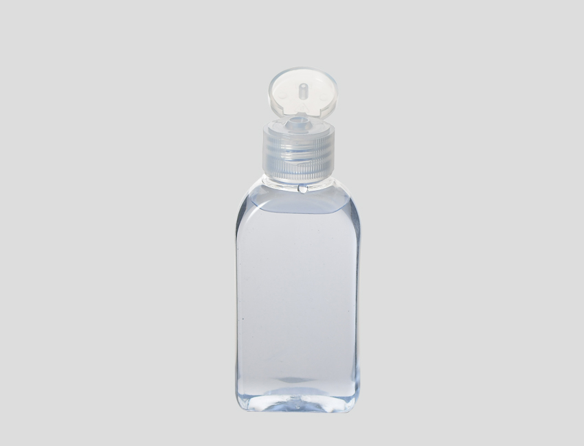 Clear Fliptop Cap Bottle