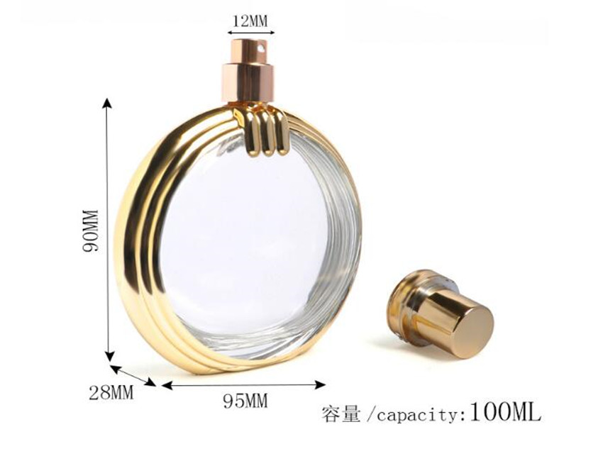 O Shaped Perfume Bottles Wholesale